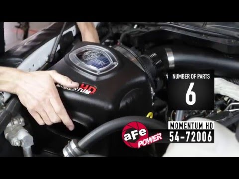 aFe Power Momentum Cold Air Intake Systems - Engineered Adrenaline