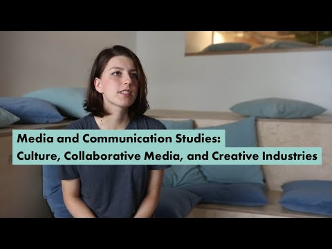 Media and Communication Studies: Culture, Collaborative Media, and Creative Industries