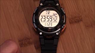 armitron pro sport watch instructions 4 button