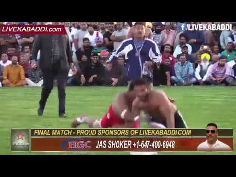 Final Match - Surrey Kabaddi Cup 2016