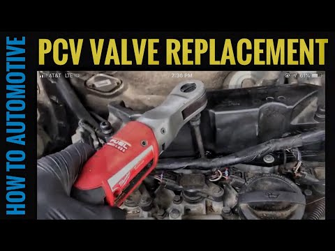 How to Replace the PCV Valve/ Oil Trap on a Volvo XC90 with 3.2L Engine
