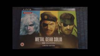Metal Gear Solid HD Collection: Limited Edition Unboxing (PlayStation 3) Alternative Magazine Online