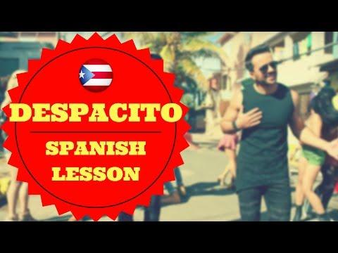 Learn Spanish with Despacito! Lyrics analysis and interpretation!
