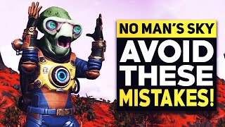 No Man's Sky - The 10 Biggest Mistakes You're Probably Making (No Man's Sky 2020)