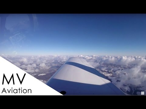 Ferry flight of a Mooney with live ATC – Augsburg to Luxembourg (part1)
