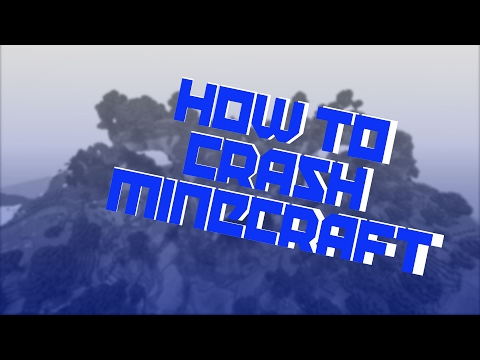 How to Crash any Game on Minecraft PS4 February 2017