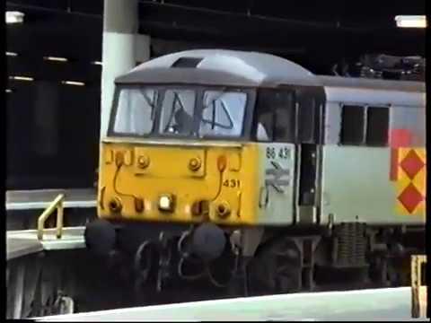 British Rail InterCity-Euston Variety 1992