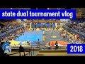 State Duals Wrestling Tournament Vlog - 2018 - Nebraska High School Wrestling - Lincoln East