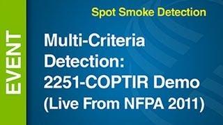 Fire/CO -- Multi-Criteria Detection (Live NFPA 2011)