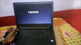 Lenovo FreeDos NO OS Windows Installation BIOS Setup