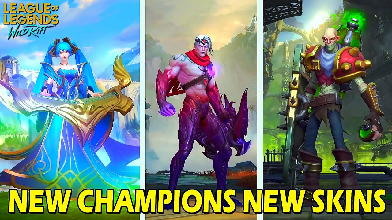 Closed Beta September New Champions New Skins League Of Legends Wild Rift Android Ios Youtube