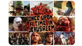 """Teaser Once Upon A Time In Jerusalem HD """"Fist of Jesus"""" film feature."""