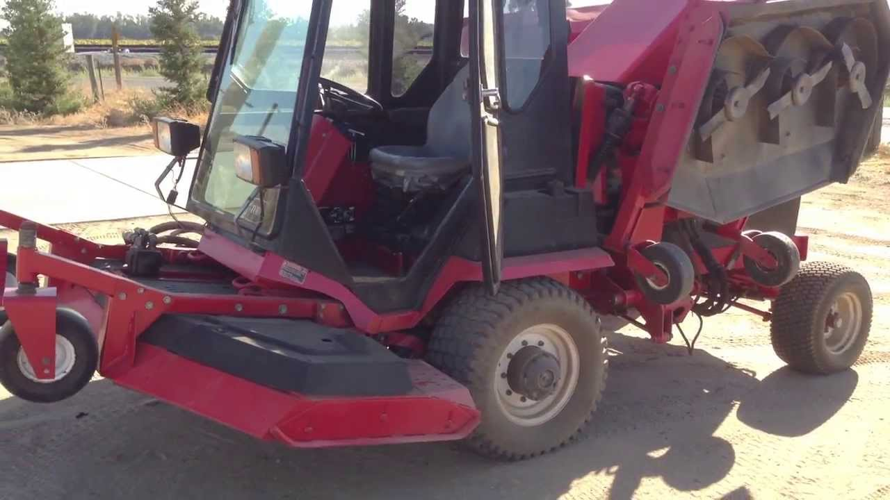 Toro 580d Wide Area Mower Groundsmaster 16 Commercial Turf