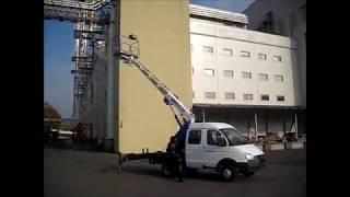 Автовышка ВИПО-12-01 (ГАЗ-33023)