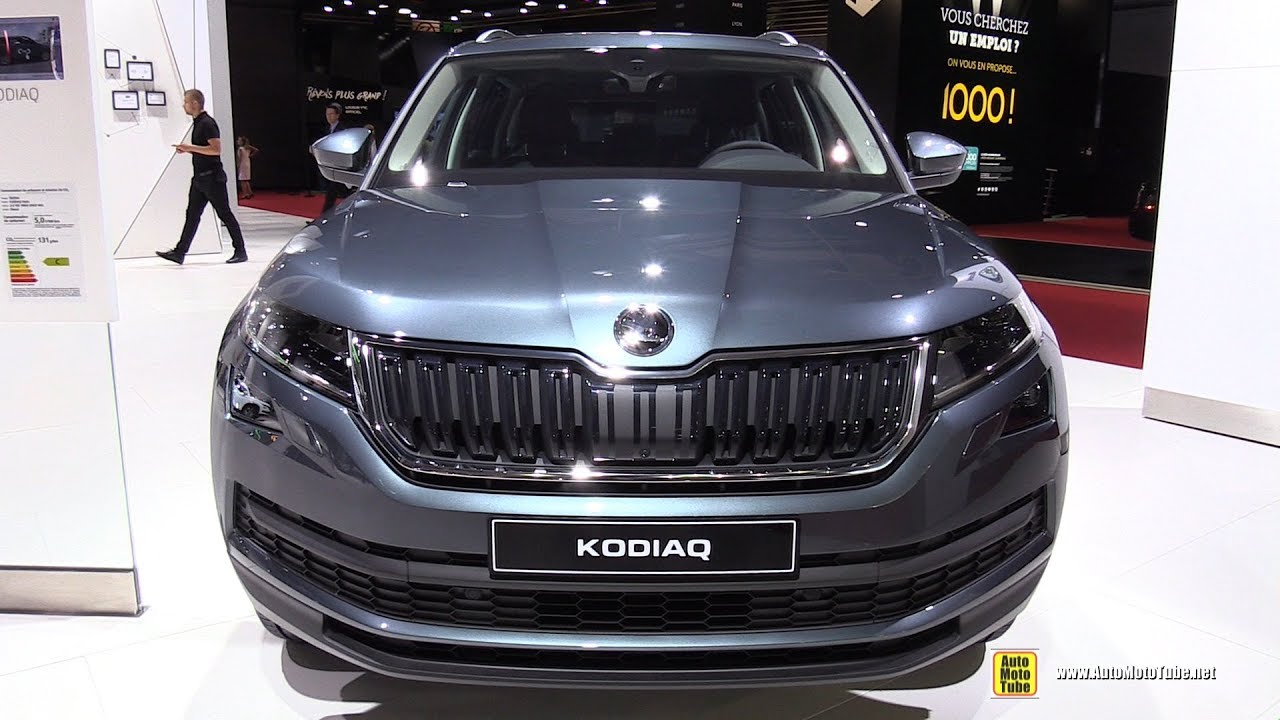 2017 skoda kodiaq style 2 0 tdi exterior and interior walkaround 2016 paris motor show youtube. Black Bedroom Furniture Sets. Home Design Ideas
