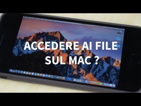 Come accedere ai file su Mac da iPhone con iCloud Drive?