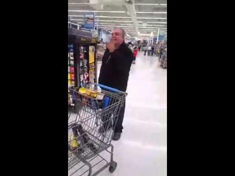 Walmart preacher