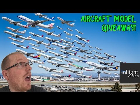 COMPETITION TIME: AIRCRAFT MODEL GIVEAWAY!