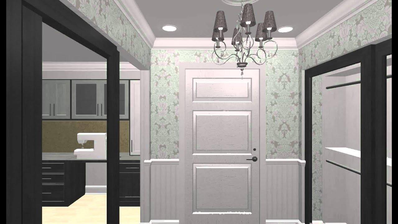 3D Laundry Room, Mudroom U0026 Home Office Walk Through By Melissa Jane Designs