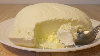 Сыр Маскарпоне в домашних условиях. Все очень просто!