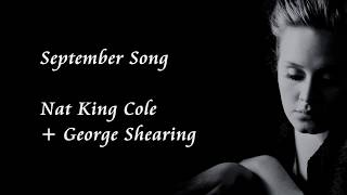 Watch Nat King Cole September Song video