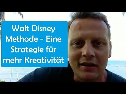 Walt Disney Methode - Eine Strategie für mehr Kreativität