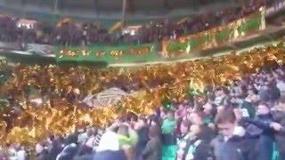 Green Brigade Tifo v Ajax 26.11.15