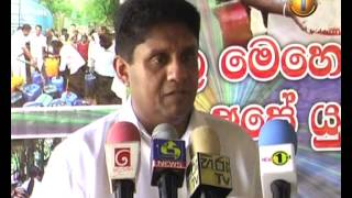 News1st Why now - asks Sajith; says love and concern never seen before displayed towards citizens