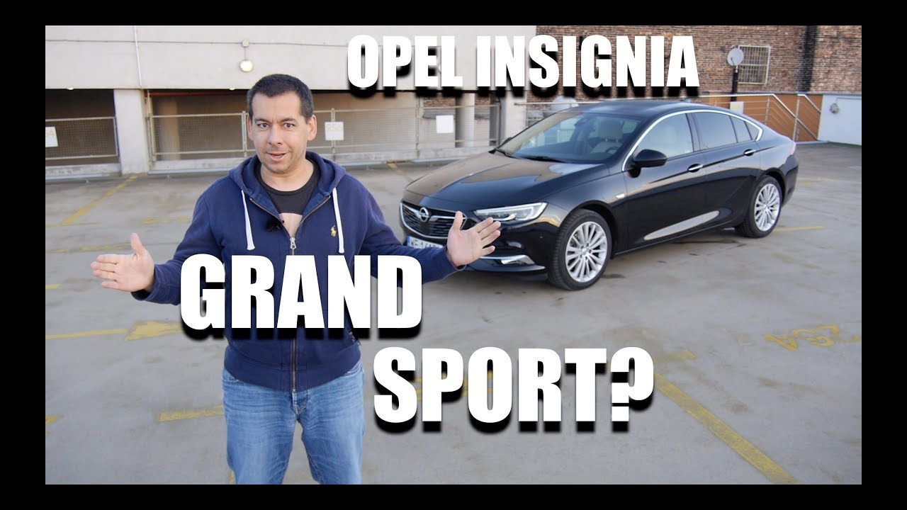 Opel Insignia Grand Sport 1.5 Turbo (ENG) – Test Drive and Review