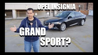 Opel Insignia Grand Sport 1.5 Turbo (ENG) - Test Drive and Review