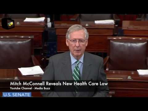 Mitch McConnell Reveals New Health Care Law 6/22/17