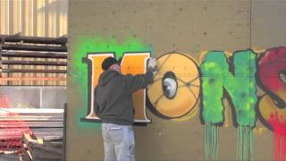 "Luis Z""imad"" Lamboy creates some monster graffitti Seeds of the DEAD"