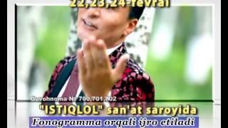Sobirjon Mo'minov & Ro'zimuhammad Mo'minov - Konsert 2013 (Reklama) Resimi