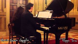 E. Grieg - Peer Gynt Suite No. 1 Op. 46, I Morning Mood - Filippo Terni & Maria Luisa Langella
