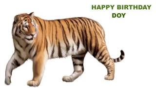 Doy  Animals & Animales - Happy Birthday