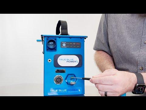 Downloading a True Blue Power Battery Event Log