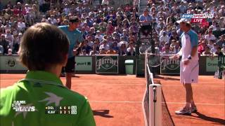 Roland Garros 2011 - Funny Moments (4th day)