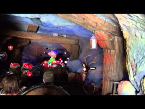 Seven Dwarfs Mine Train Opening Day POV Ride-through at the Magic Kingdom