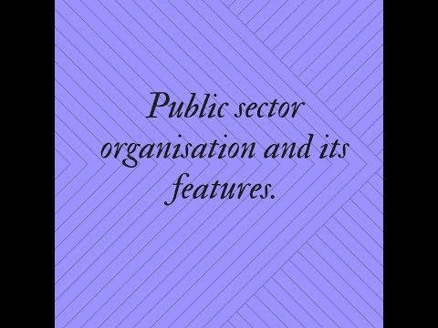 public sector organisation in hindi