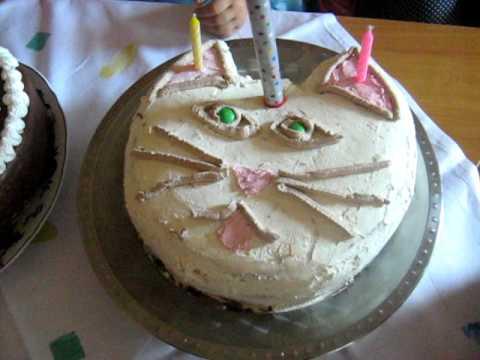 cica torta képek Megerkezett a cica torta es a tuzijatek   YouTube cica torta képek