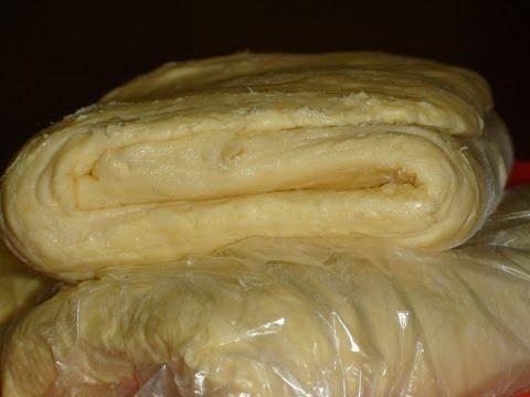 Универсальное слоеное тесто.Для наполеона......Universal Puff Pastry