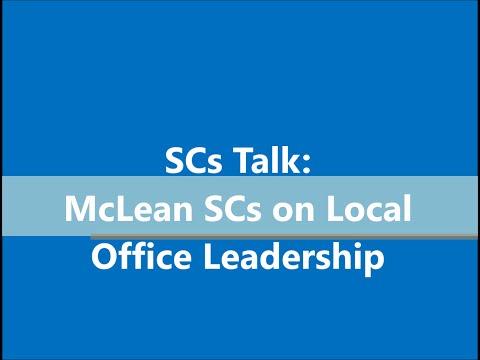 Senior Consultants talk