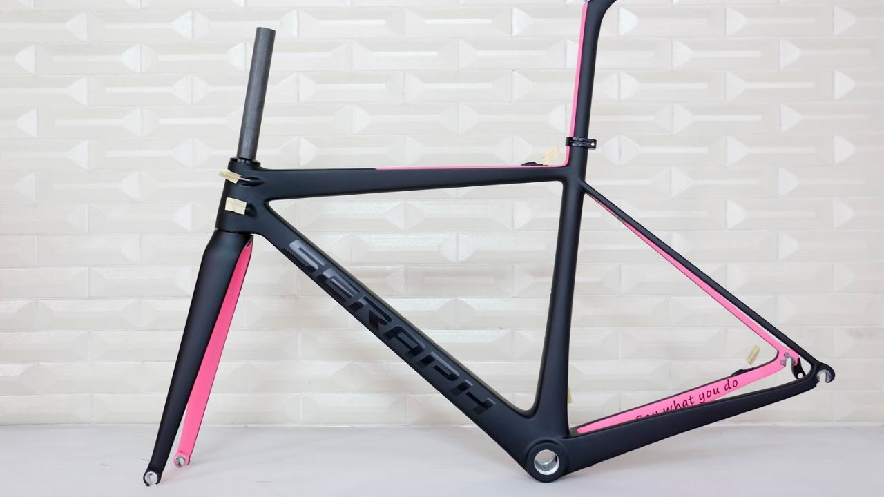 SERAPH new design carbon road bicycle frame . accept custom paint ...