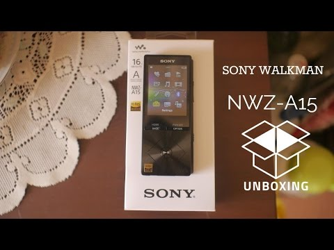 Sony Walkman NWZ-A15 HiRes Audio Player Unboxing & First Look
