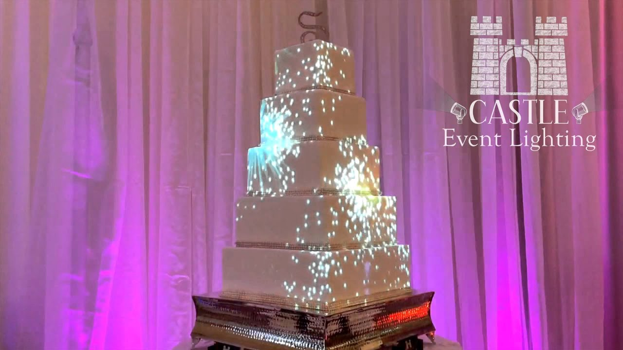 virtual wedding cake maker 3d projection mapping on wedding cake 21627
