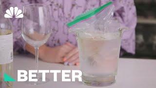 The Best Way To Chill Warm Wine FAST! | Better | NBC News