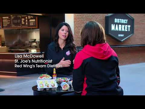 Official Nutrition Partner: Detroit Red Wings :30 – Lila's Good Health