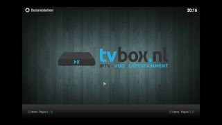 Tutorial | NLview addon installeren KODI (www.tvbox.nl)