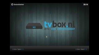 Tutorial   NLview addon installeren KODI (www.tvbox.nl)