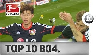 Top 10 Goals - Bayer Leverkusen - 2013/14